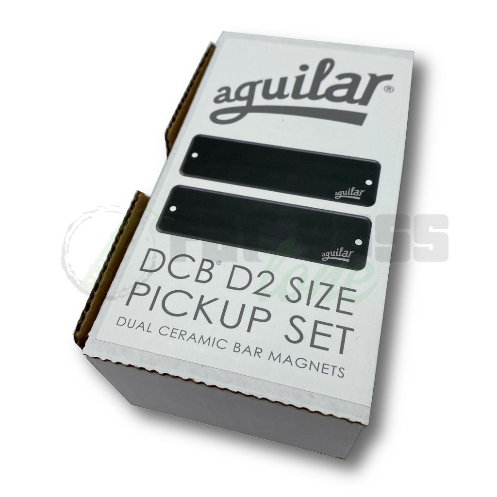 Aguilar AG DCB-D2 Dual Coil (P2 Shape) Pickups for Bass Guitar Box View