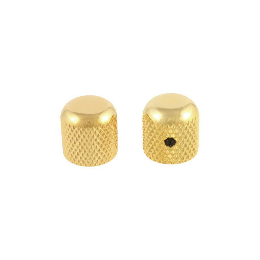 Metal Dome Knob Gold for Bass Guitar