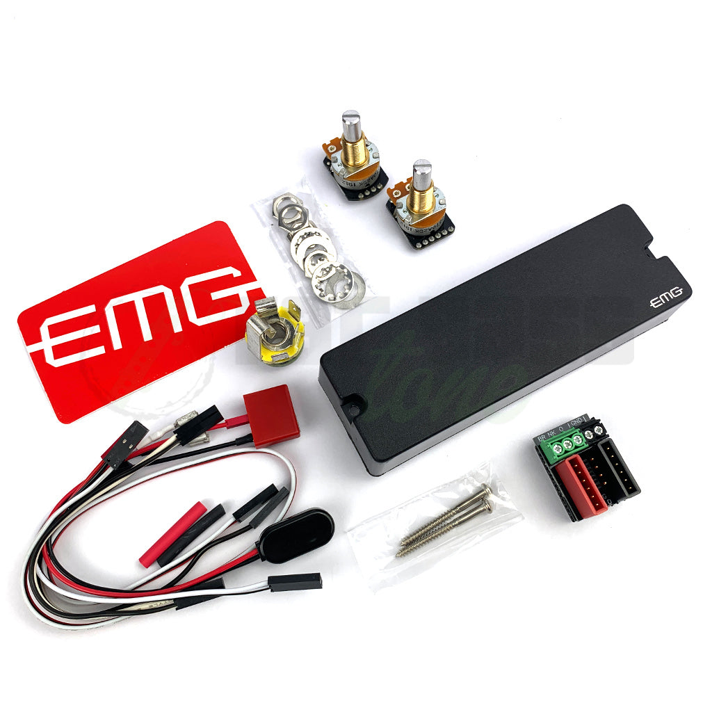 component  view of EMG 45 DC 6 String Bass Pickup