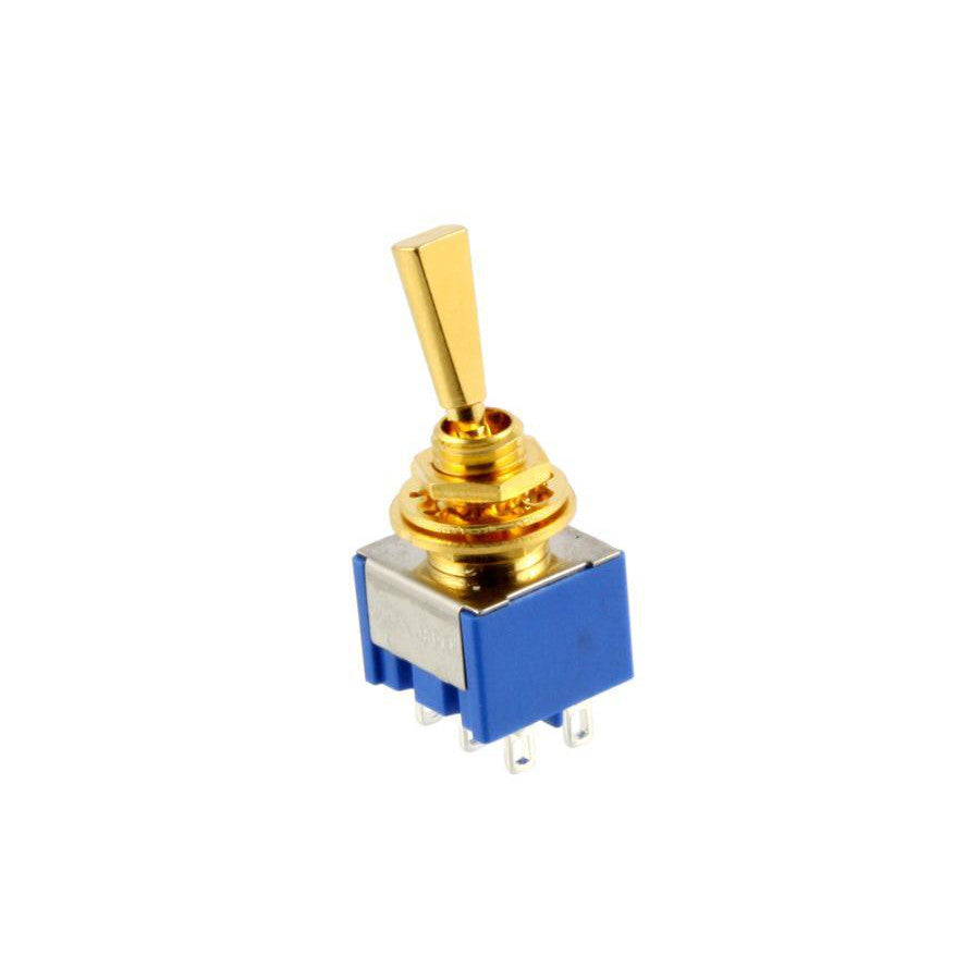 3 Way Flat Switch Gold for Bass Guitar