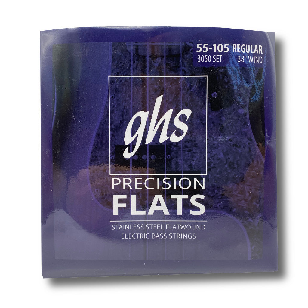GHS Precision Flats Bass Strings