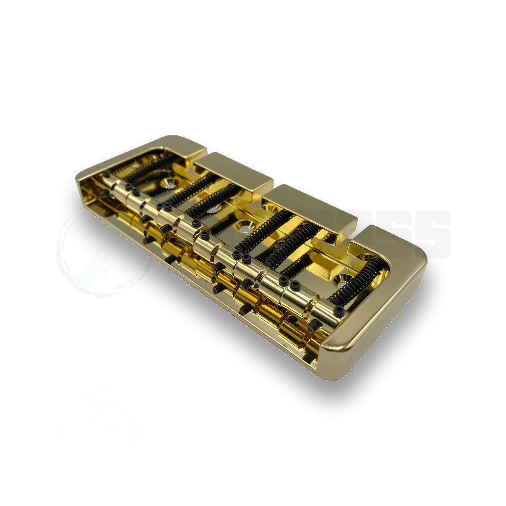 Gold 5 String Hipshot B Style Bridge