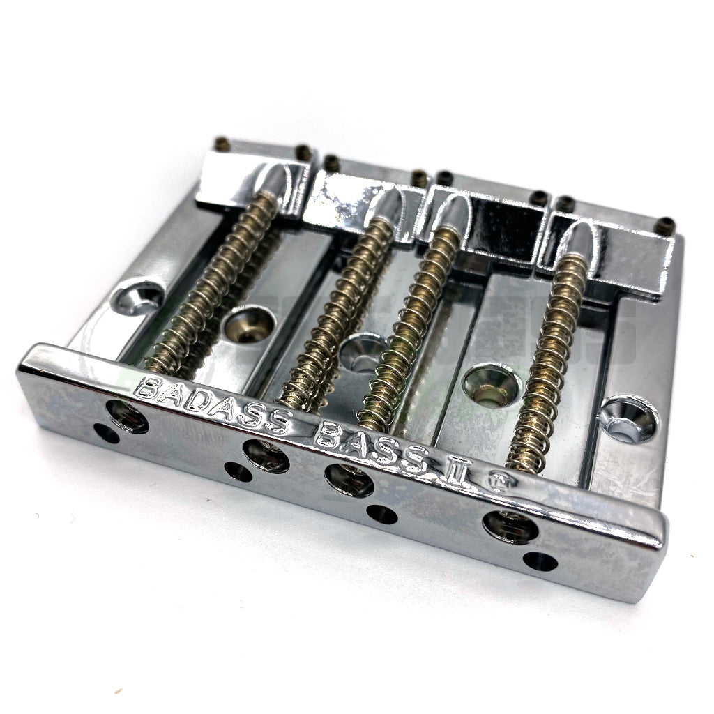 Leo Quan Badass II Bridge Chrome for Bass Guitar