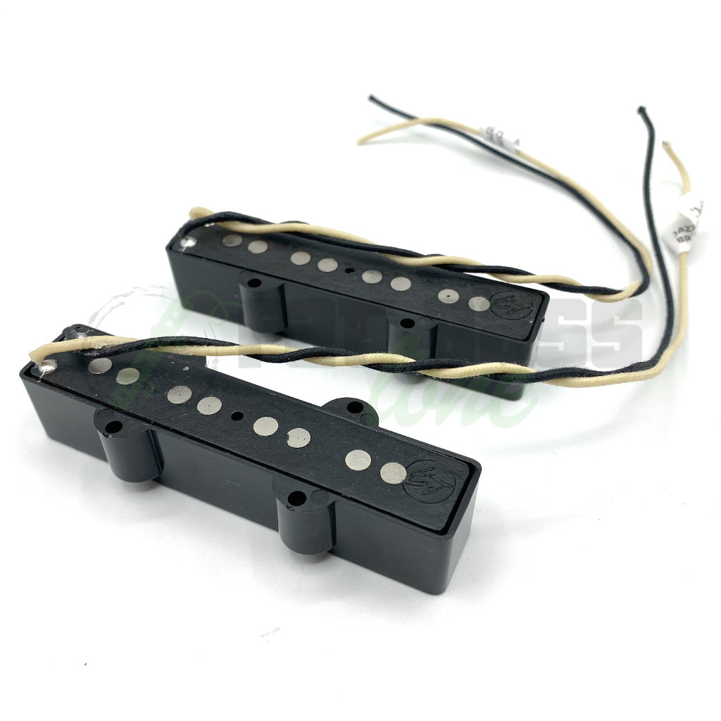 View of Back of Fralin Jazz Bass® Pickups for Bass Guitar