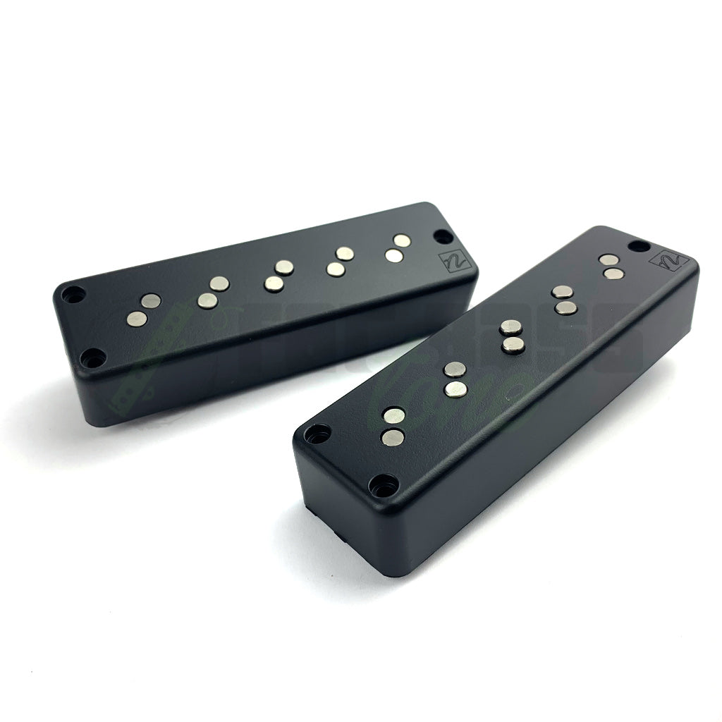 front view of Nordstrand Big Split 5 String Bass Pickups