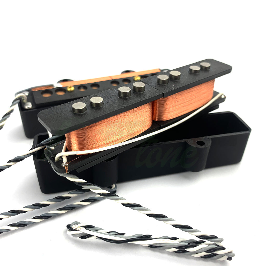 coil view of Nordstrand NJ4SV 4 String Jazz Split Coil Bass Pickups
