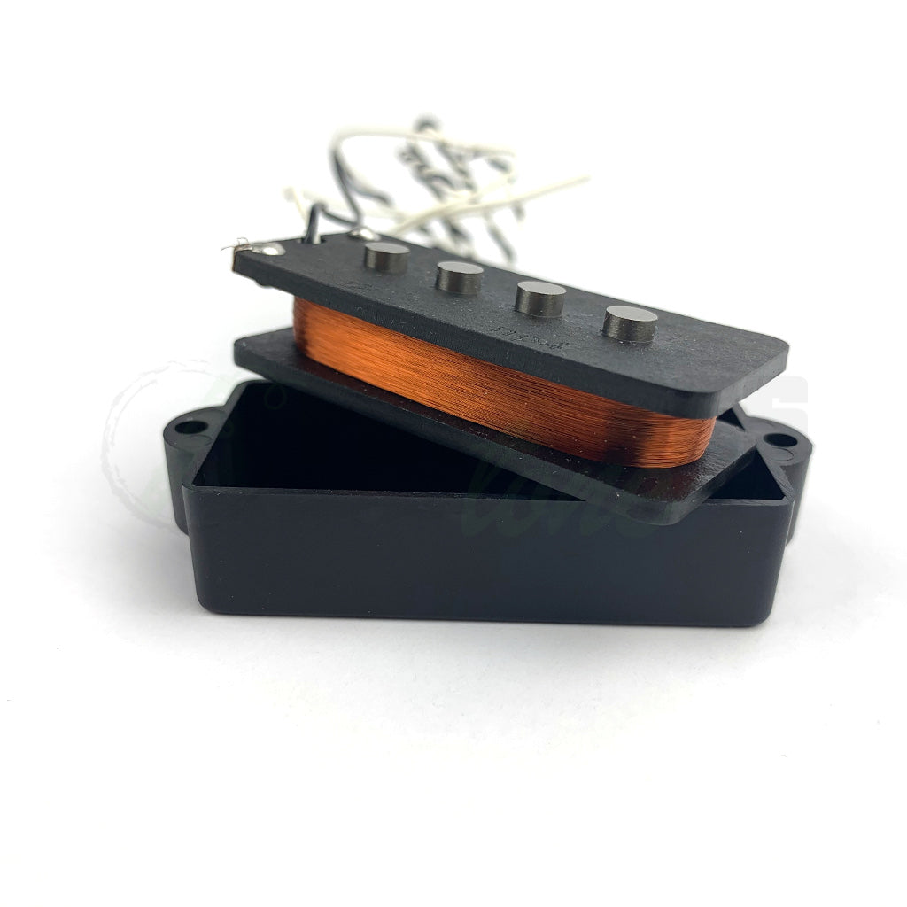 coil view of Nordstrand NP4 4 String Precision Bass Pickup