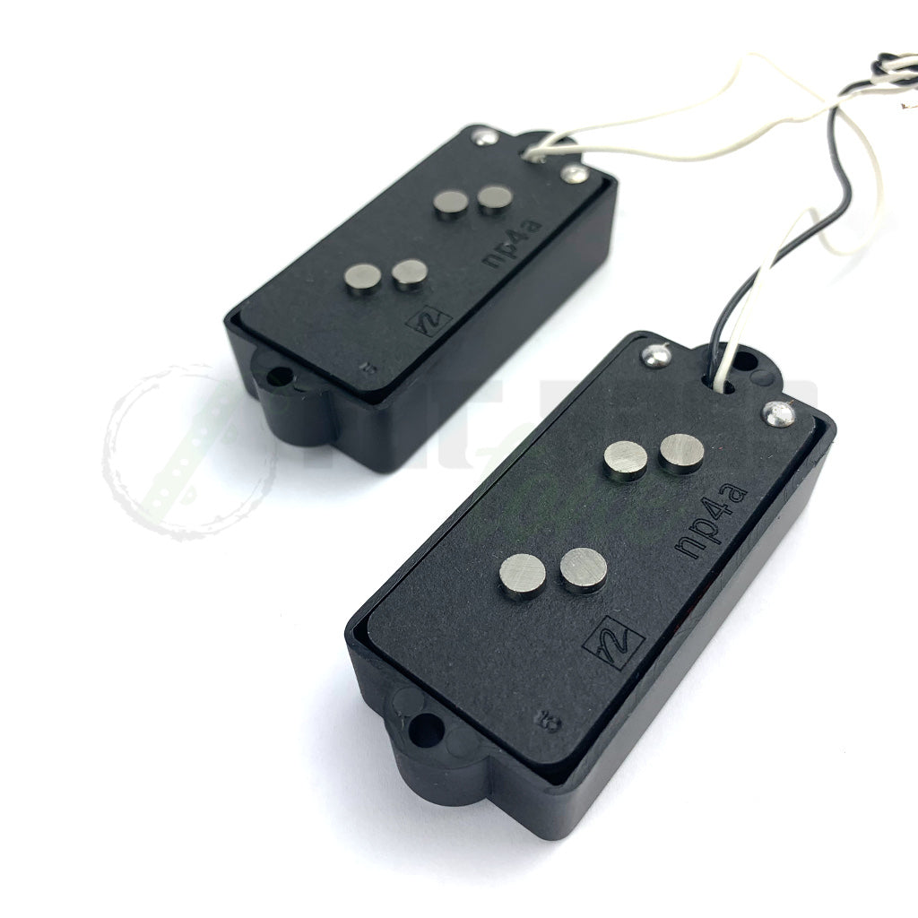 back  view of Nordstrand NP4a 4 String Bass Pickup