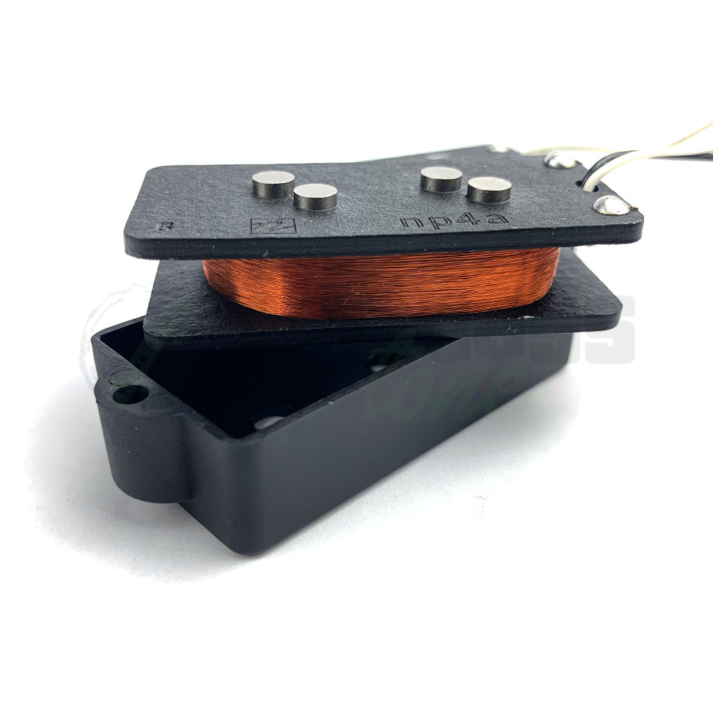 coil view of Nordstrand NP4a 4 String Bass Pickup