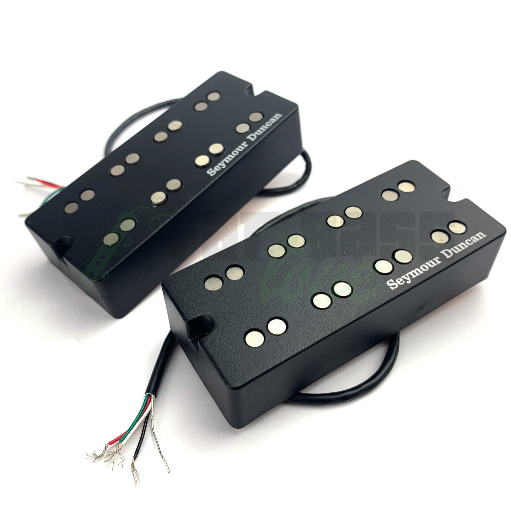 front view of Seymour Duncan NYC 4 String Bass Pickups