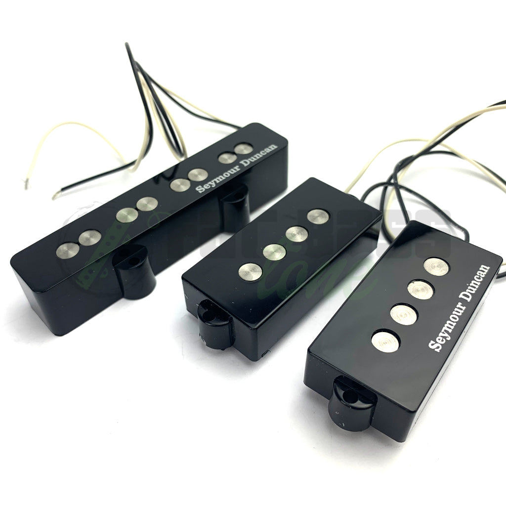 front view of Seymour Duncan 4 String Quarter Pound PJ Bass Pickups