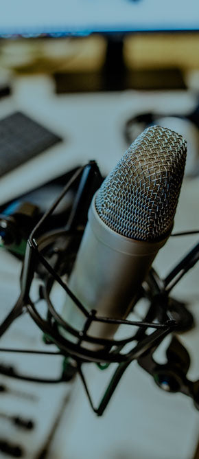 Professional podcast production services from Music Radio Creative