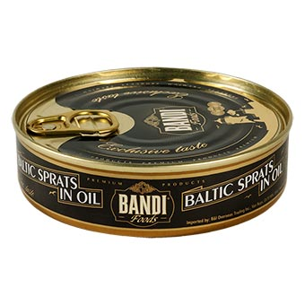 BANDI Smoked Sprats in oil, 5.64oz/160g
