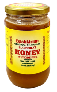 BASHKIRIAN Buckwheat Honey, 16oz/454g