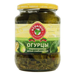 KEDAINIU Pickled Cucumbers, 23.2oz / 660g