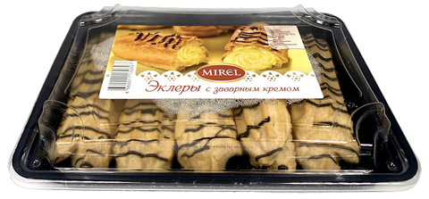 MIREL Eclairs with Custard Filling, 7.4oz/210g