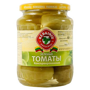 KEDAINIU Pickled Green Tomatos, 23.2oz / 660g