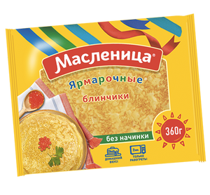 MASLENITSA Crepes Plain, 12.6oz/360g