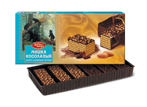 MISHKA KOSOLAPIY Wafer Cake, 0.55lb/250g