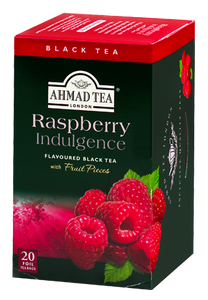 AHMAD Raspberry Indulgence Tea, 20 teabags