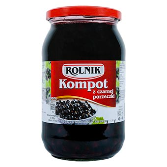 ROLNIK Blackcurrant Compote, 30 fl.oz/900ml