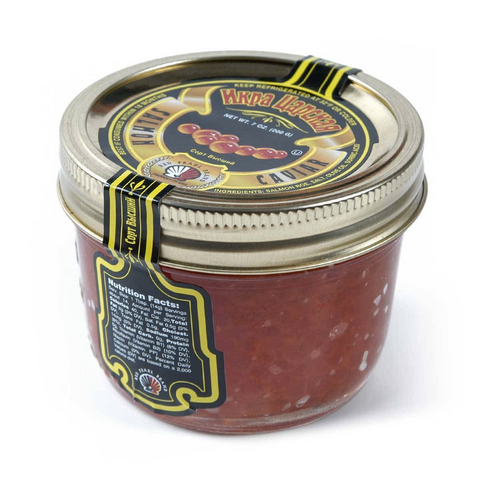 TSAR's Salmon Red Caviar, 6.35oz/180g