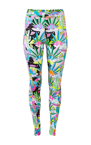 COSMIC CACTUS LEGGINGS