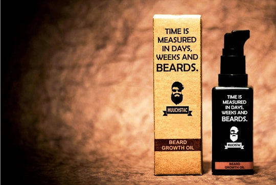 Muuchstac Beard Growth Oil