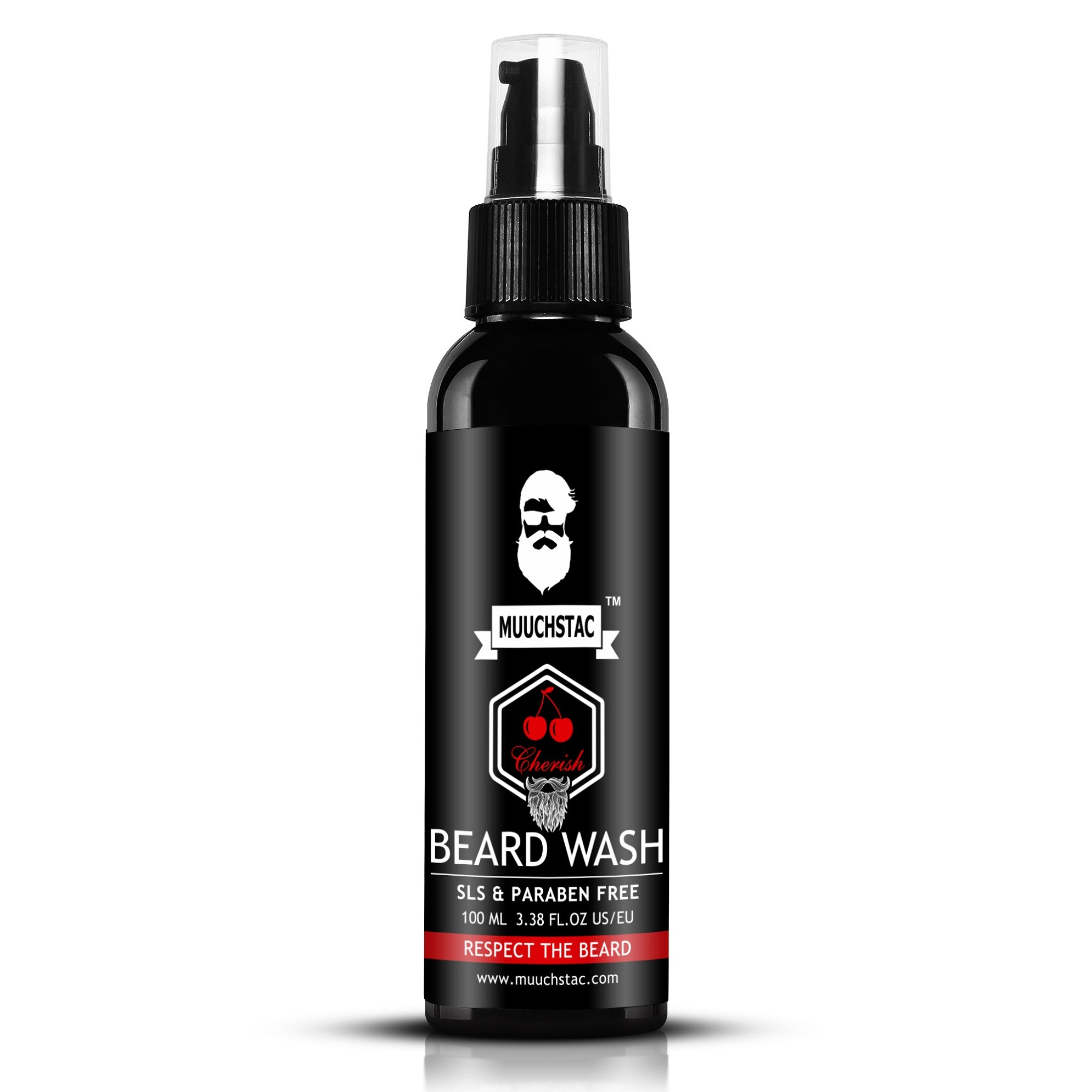Muuchstac Cherish Beard Wash - (100 ml)