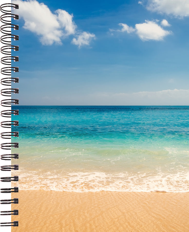 2020 life by design planner with beach and ocean cover 12 months by life by design creations ltd.