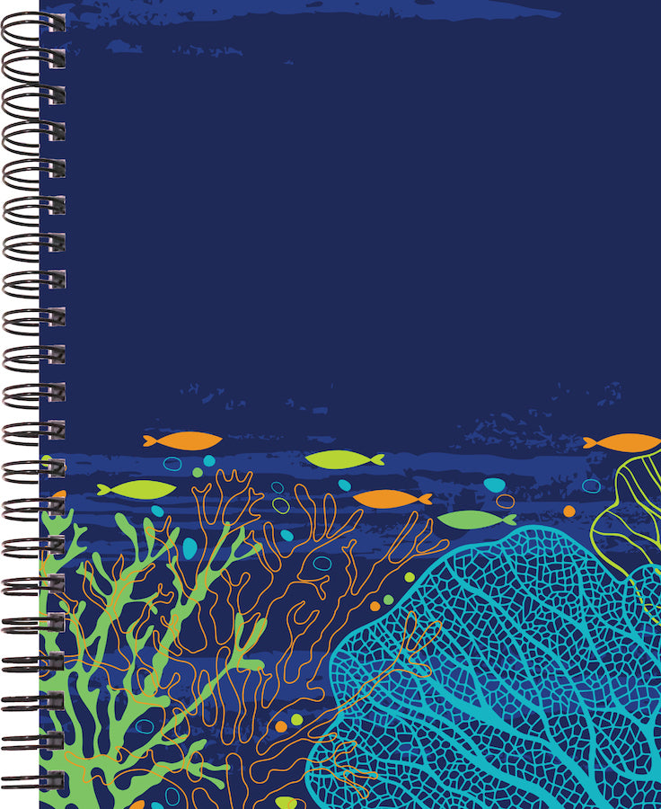coral reef cover for 2020 life by design planner 12 months made by life by design creations ltd.