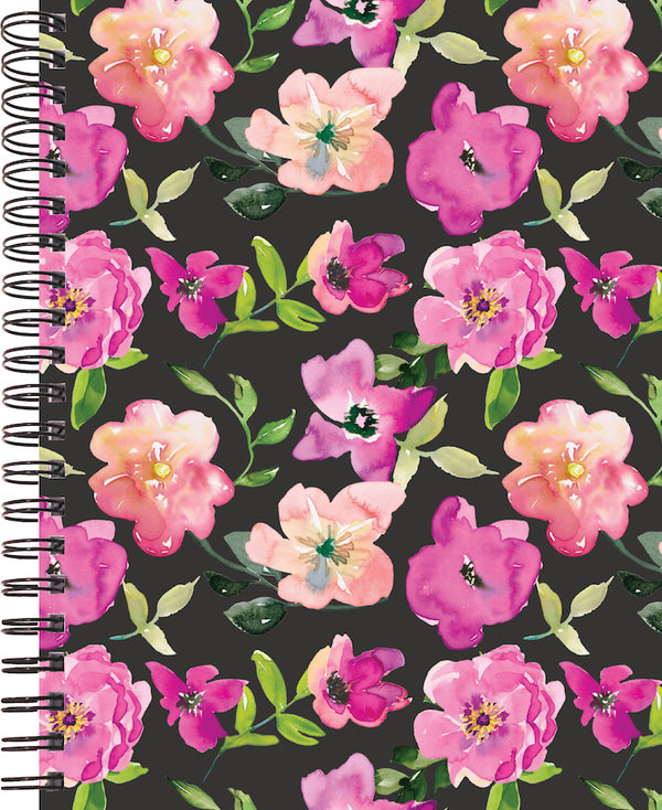 floral watercolor cover for 2020 life by design planner 12 months
