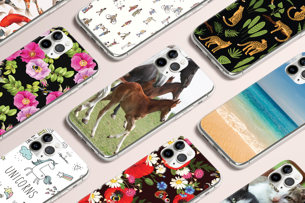 iPhone 11 Pro case with Wild Horses design made by Life By Design Creations many designs view