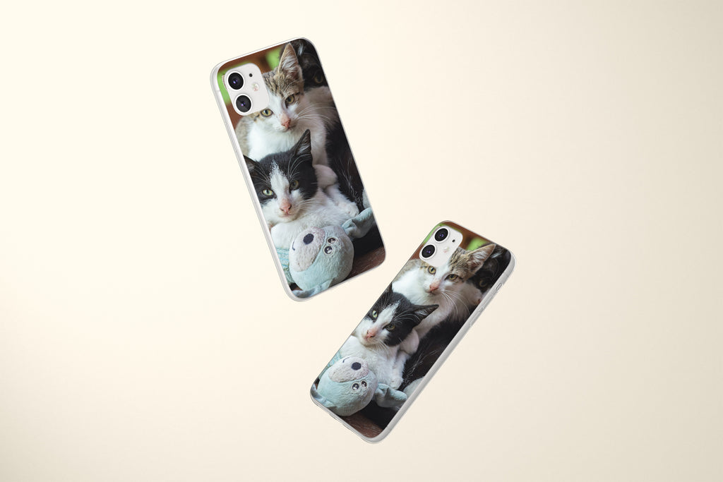 iPhone 11 case with Wild Horses design made by Life By Design Creations both sides view