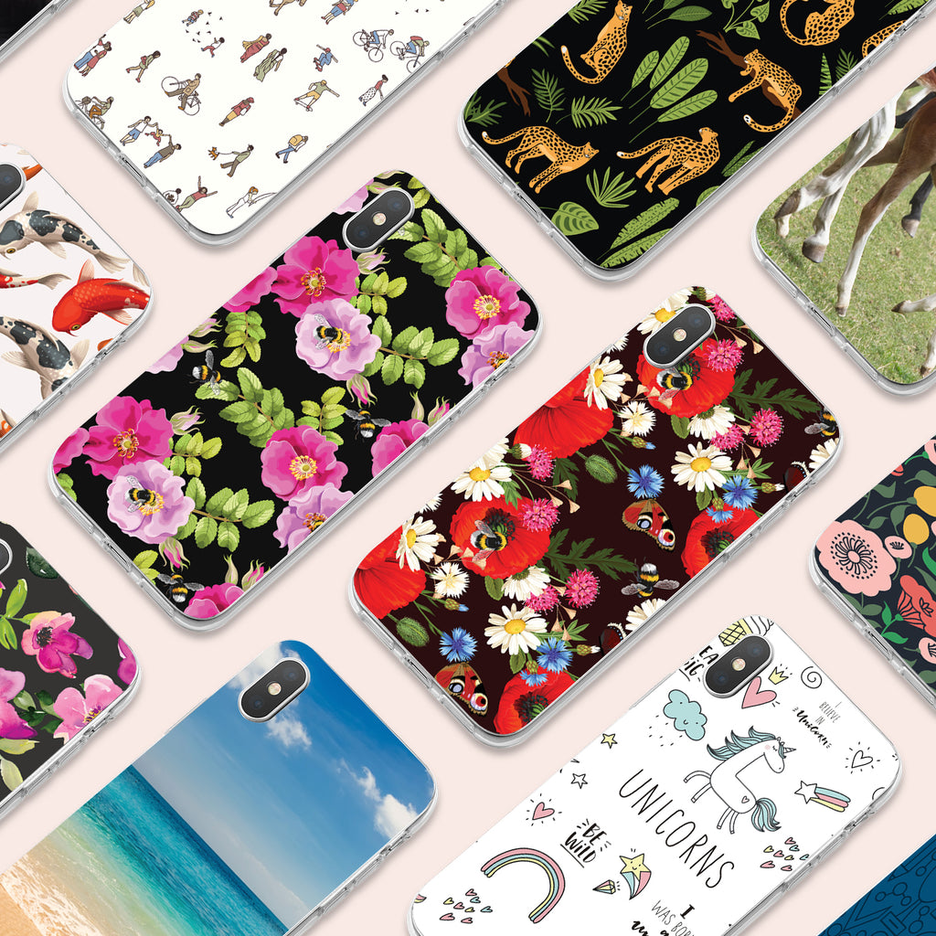iPhone XS case with Summer Flowers design made by Life By Design Creations  many designs view