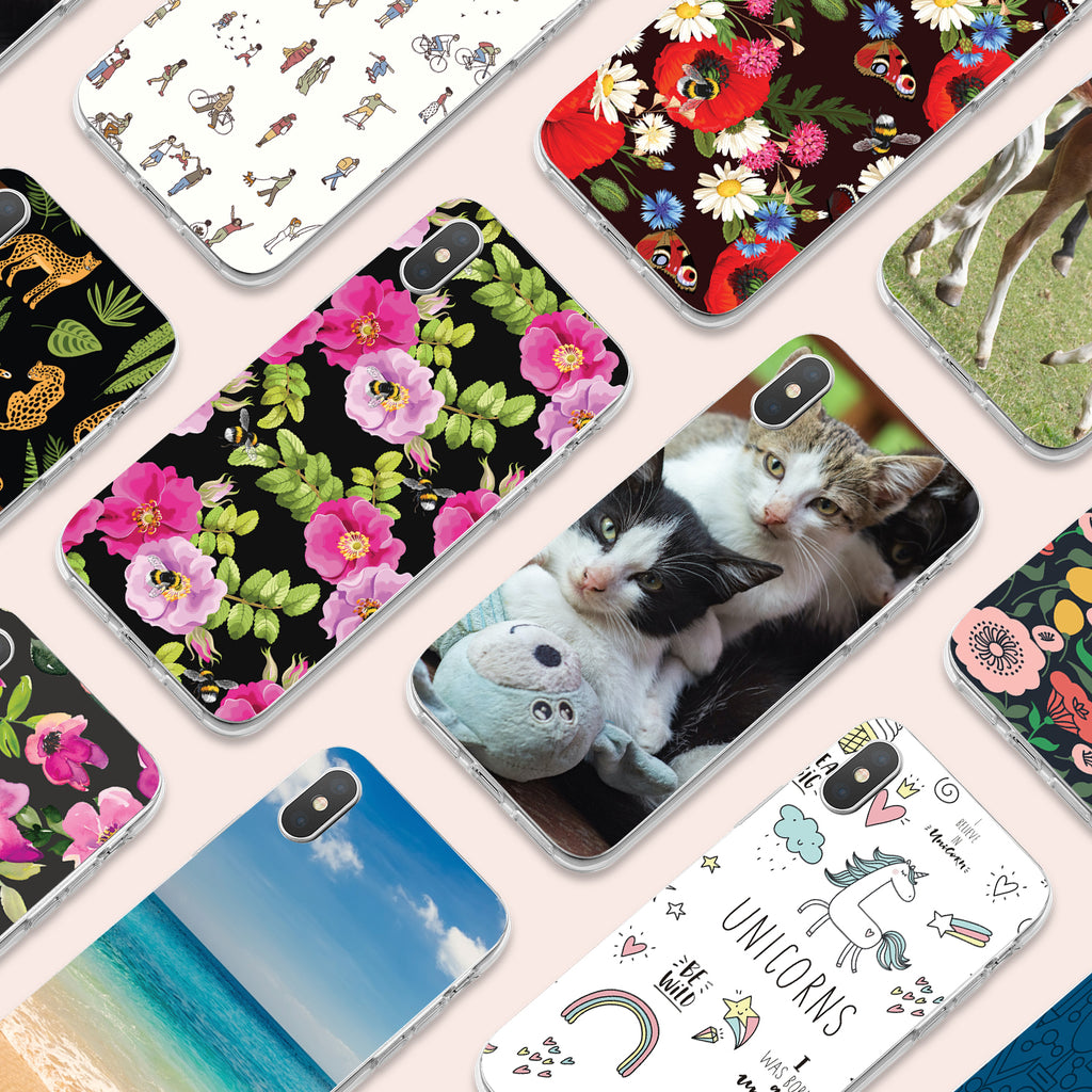 iPhone X case with Cozy Kittens design made by Life By Design Creations  many designs view
