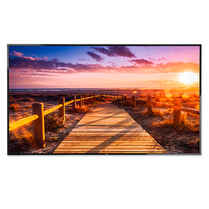 "NEC 65"" LED Backlit Display with Integrated ATSC/NTSC Tuner"