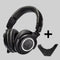 ATH M50X with Bluetooth Adapter