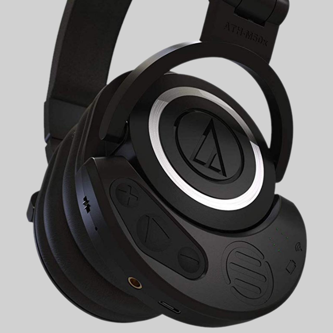 ATH M50X with Pro Audio Adapter