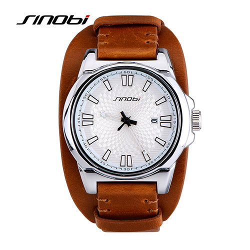 SINOBI Men's Waterproof Watch