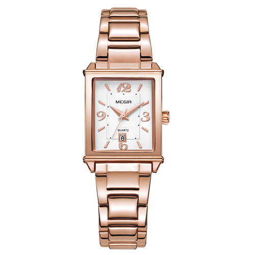 MEGIR Ladies Rose Gold Watch