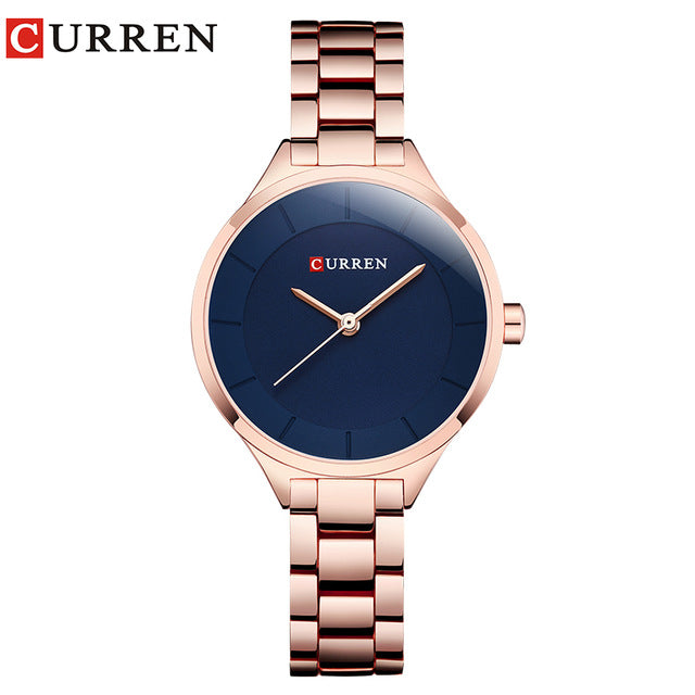 CURREN Gold Women's Watch
