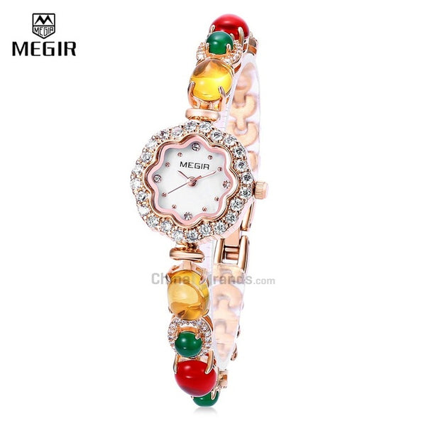 MEGIR Women Bracelet Watch