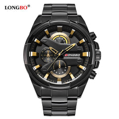 LONGBO Luxury Relogio