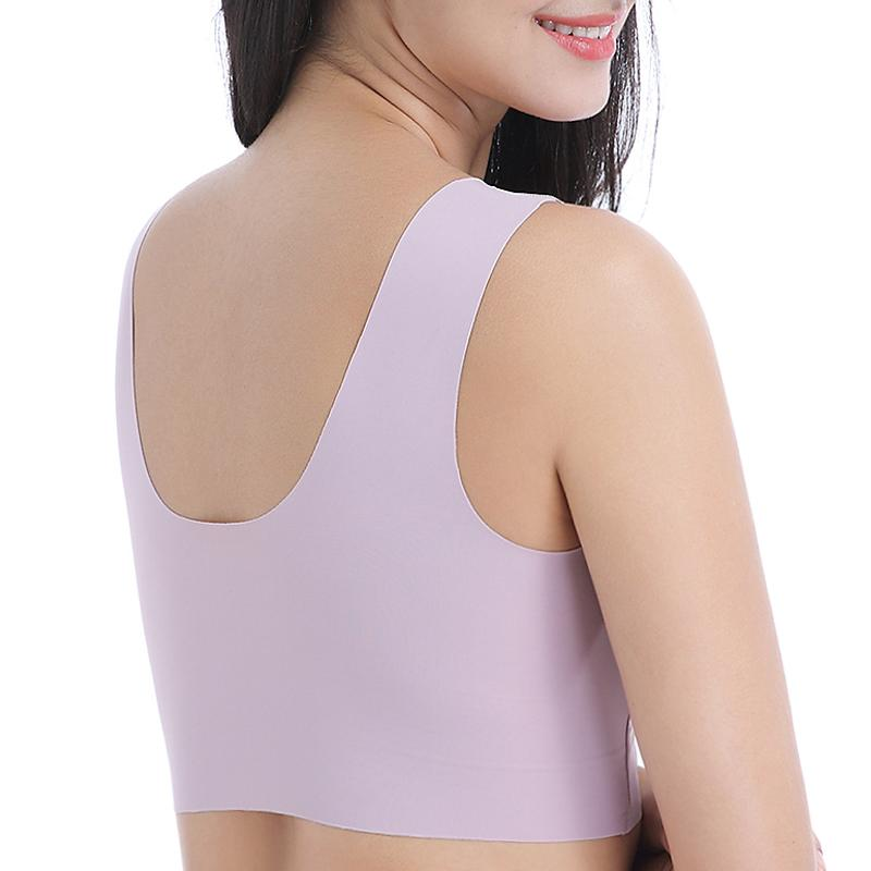 Air Permeable Extra Support Wirefree Lace Bra