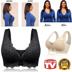 🌹 30%OFF 🌹 Front Closure Extra-Elastic Breathable Bra
