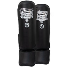 Load image into Gallery viewer, TU V1PER Series Shin Guards - Black - Triumph United