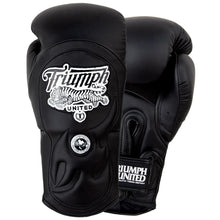 Load image into Gallery viewer, Tiger 1 Series Pro Muay Thai Gloves Black/Black