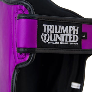 TU Tiger 1 Series Pro Muay Thai Shin Guards PURPLE