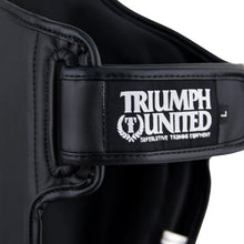 Load image into Gallery viewer, TU Tiger 1 Series Pro Muay Thai Shin Guards - Black - Triumph United